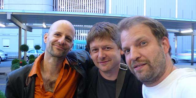 Lucien Dubuis, Lionel Friedli, Florian Stoffner, Фото: Florian Stoffner